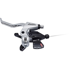 Shimano ST-M310 Gear/Brake Lever 3-delad Vänster black/silver